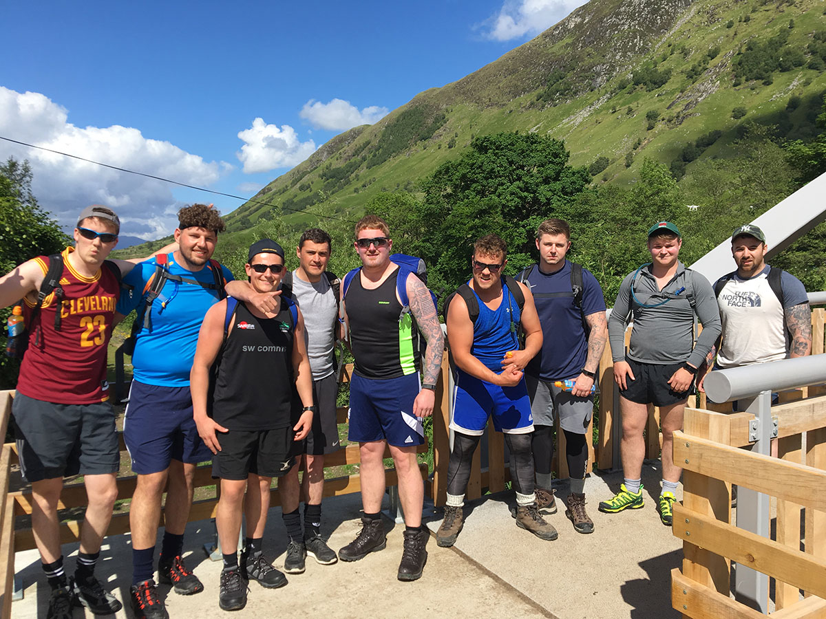 Newtown RFC | National Three Peaks Challenge