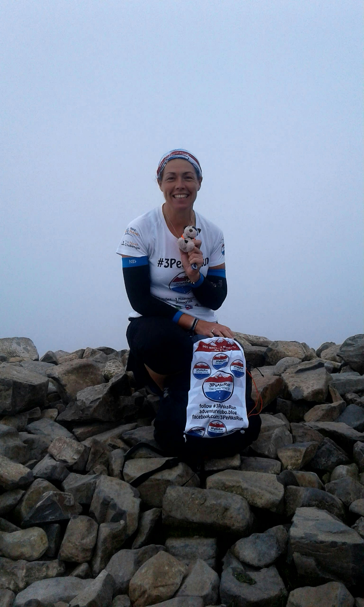 Tina Page - 3PeAksRun (solo, unsupported) | National Three Peaks Challenge