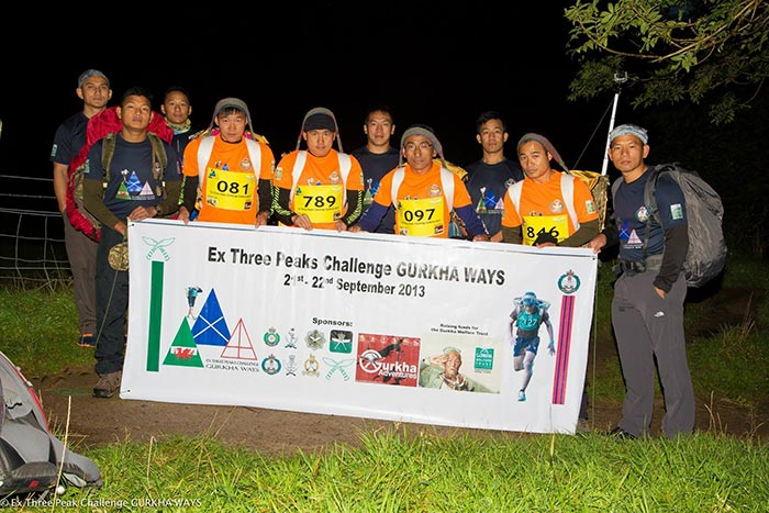 Ex THREE PEAK CHALLENGE GURKHA WAYS | National Three Peaks Challenge